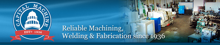 Capital Machine Corporation | Reliable Machining, Welding & Fabrication since 1936